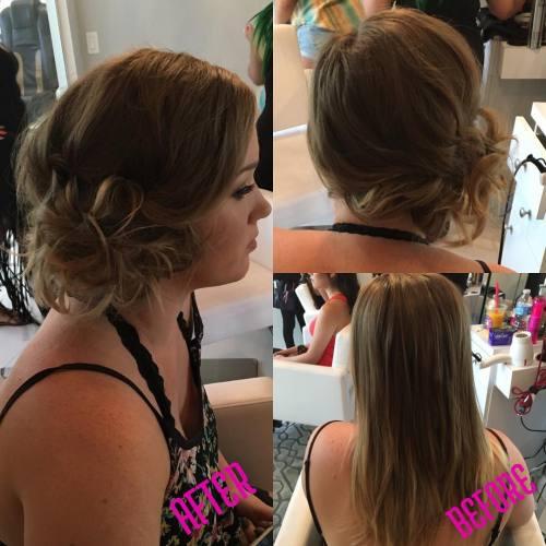 Side Updo For Fine Hair