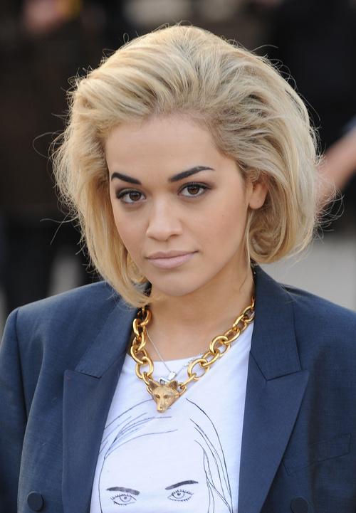 Rita Ora faux bob