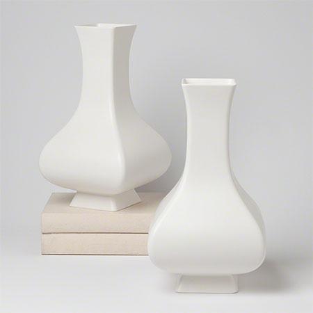 Square Slope Vase