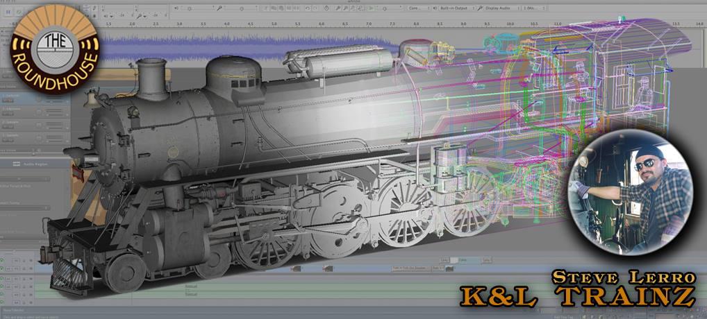 Digitizing a Steam Locomotive with K&L Trainz