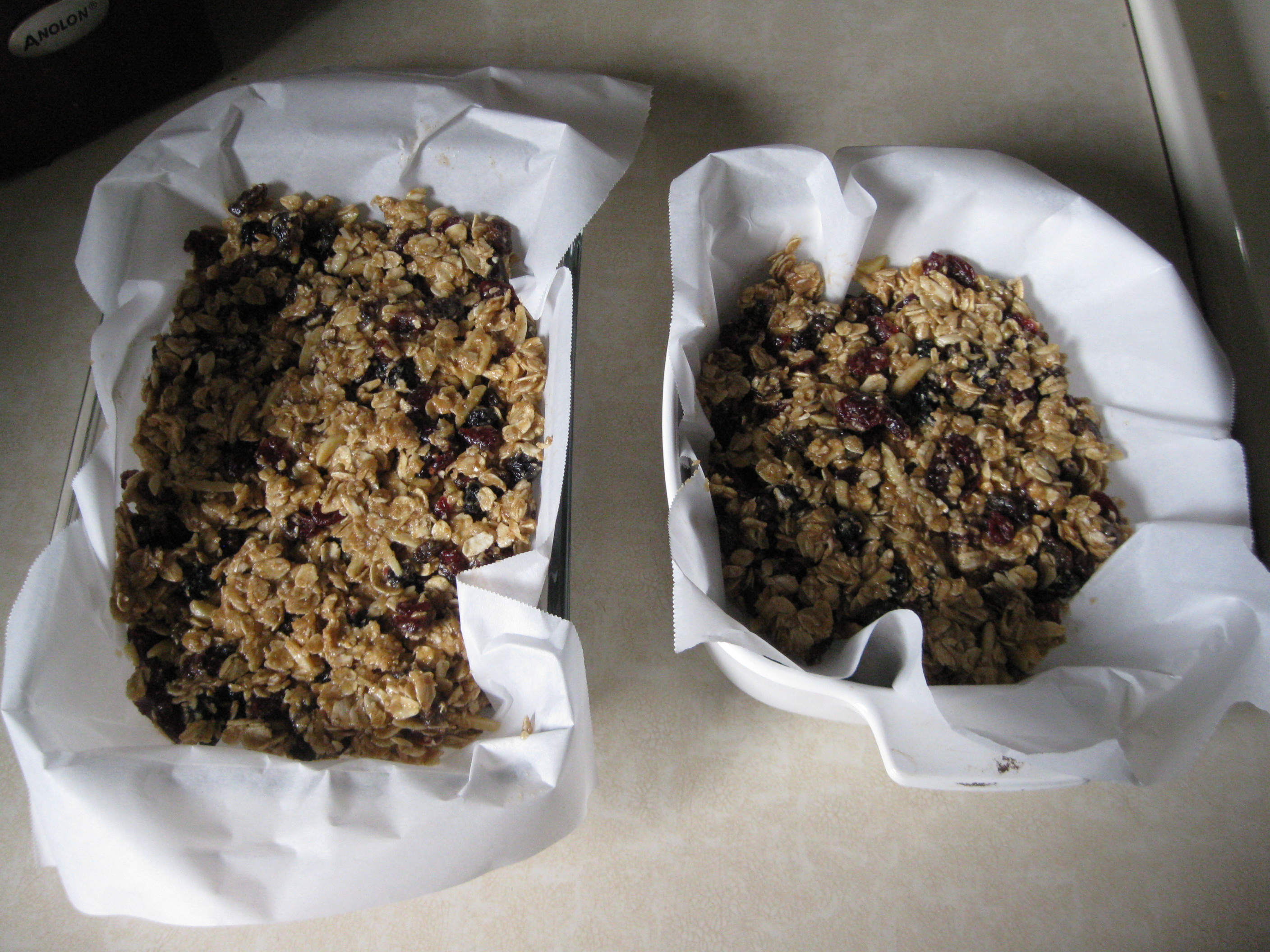 Thick Chewy Granola Bars – The Runner's Plate
