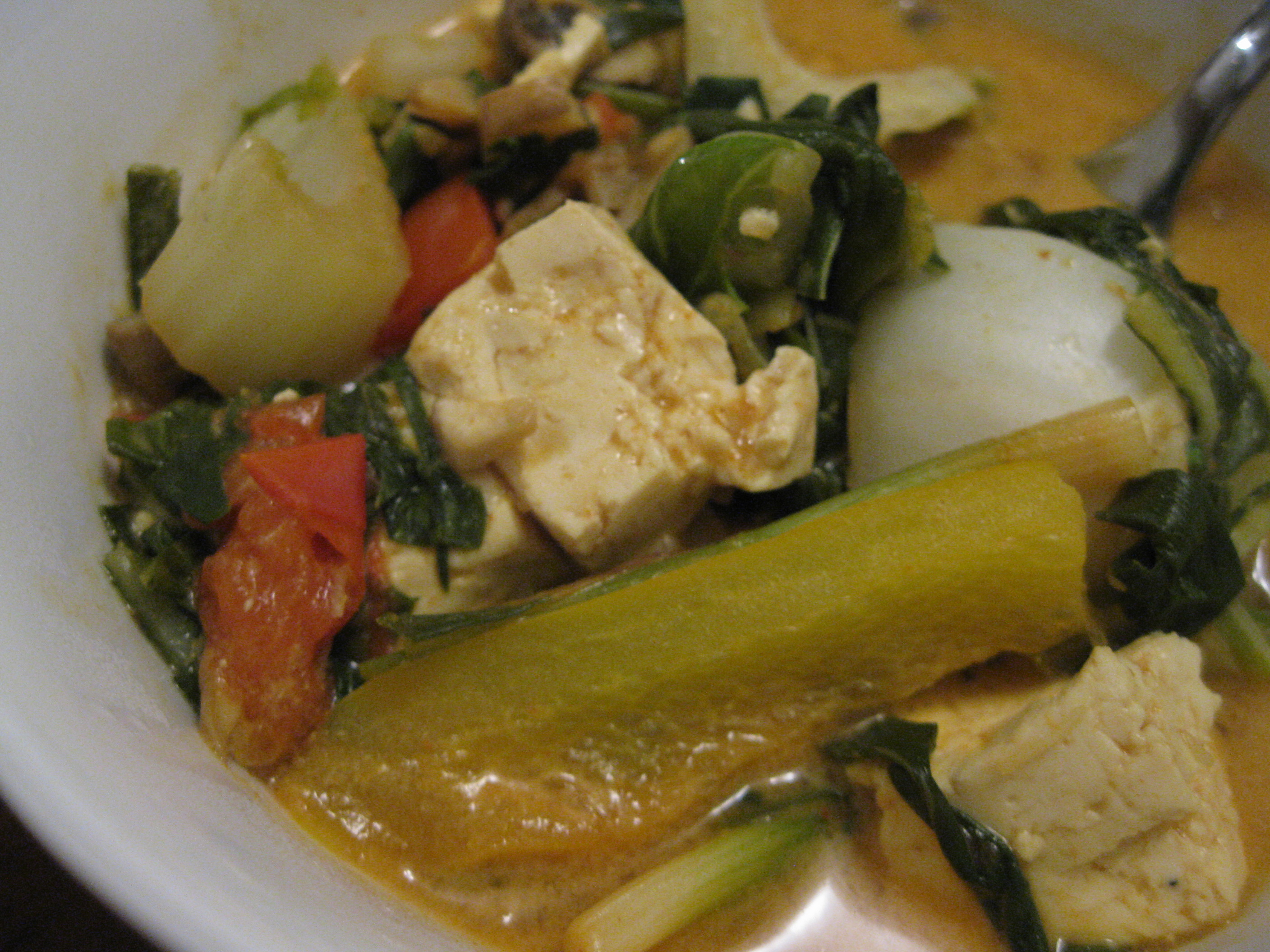 Coconut Curry Tofu – The Runner's Plate