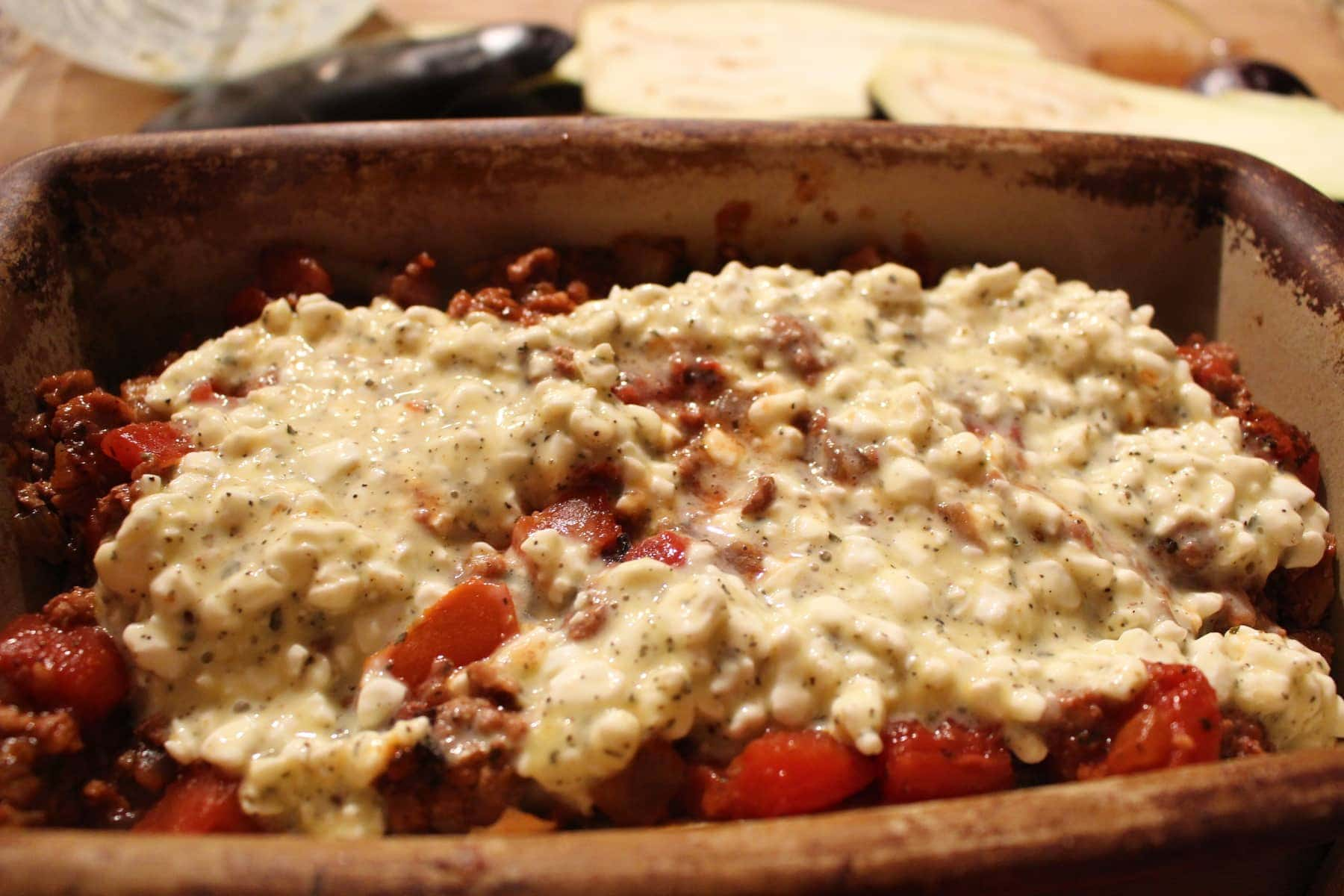 Low Carb Lasagna The Salted Pepper