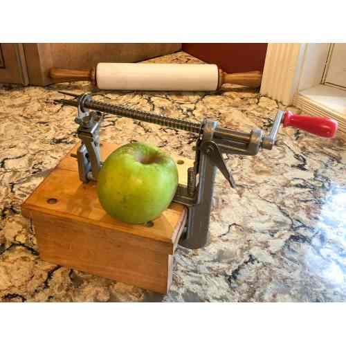 Medium Crop Of Pampered Chef Apple Peeler