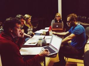 "Untethered Theater Company has their first table read of ""Revelations"" opening January 24th."
