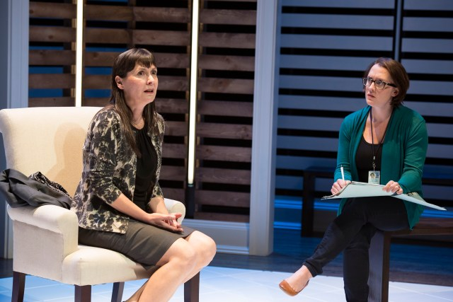 Regina Pugh as Juliana Smithson and Kelly Mengelkoch as The Woman in THE OTHER PLACE / Photo by Ryan Kurtz