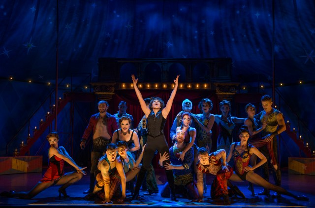 Pippin GABRIELLE McCLINTON (Leading Player) BRIAN FLORES (Pippin) JOHN RUBINSTEIN (Charles) SABRINA HARPER (Fastrada, u/s Leading Player, u/s Berthe) BRADLEY BENJAMIN (Catherine) PRISCILLA LOPEZ (Berthe) ERIK ALTEMUS (Lewis, u/s Pippin) JAKE BERMAN (Theo) DMITRIOUS BISTREVSKY (Player) MARK BURRELL (Swing, Assistant Choreographer, Dance Captain, u/s Charles) MATHEW deGUZMAN (Player, u/s Lewis) SASHA BACHMAN (Player) LOUIS EL (Player) HENRY GOTTFRIED (Swing, u/s Pippin, u/s Lewis) LAURA HALL (Player, u/s Catherine, u/s Fastrada) LISA KARLIN (Player, u/s Leading Player, u/s Berthe) ALAN KELLY (Player, u/s Charles) ANNA KACHALOVA (Player) BEN KRIEGER (Theo) KEVEN LANGLOIS (Player) ANNA SCHNAITTER (Swing, u/s Catherine) KATIE SMITH (Swing) KATE WESLER (Swing, u/s Fastrada) BORRIS YORK (Player)