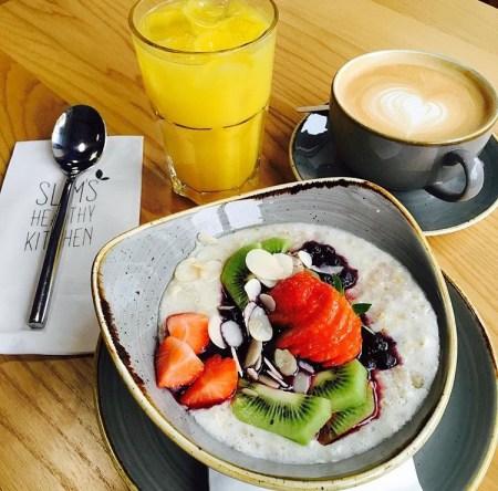 south belfast breakfast slims-healthy kitchen granola berries