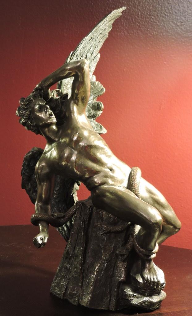 El Ángel Caído (Bronze)