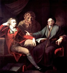 Henry Fuseli, The artist in conversation with Johann Jakob Bodmer (1778–81)