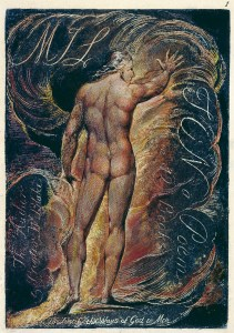 William Blake, Frontispiece to Milton (1804-10)