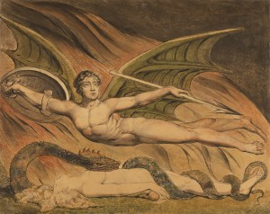 William Blake, Satan Exulting over Eve (1795)