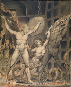 Satan, Sin and Death - Satan comes to the Gates of Hell (1808)
