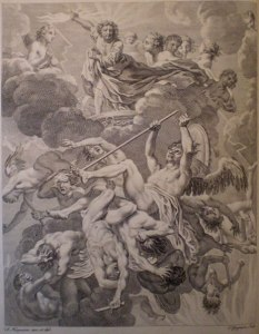 Charles Grignon, after Francis Hayman, Paradise Lost, Book VI (1749)