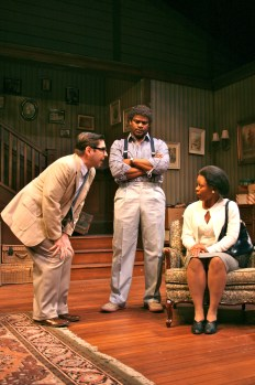 Bruce Norris' Clybourne Park, cast on stage at the Panasonic Theatre, Toronto, Ontario