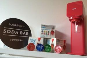 Have fun with your Sodastream Soda Bar
