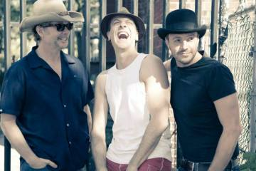 The Motherfucker With the Hat, Ted Dykstra, Juan Chioran and Sergio Di Zio Photo: Tom Mullins