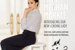 meghan markle reitmans brand ambassador