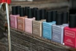 MOOV Nail polish. Manicure by MOOV. Sheek Survival Gifting Lounge #SSL15. Fashion Week Toronto. TheSceneinTO.com