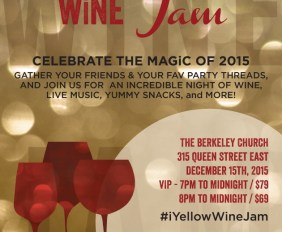 4th Annual Holiday Wine Jam on Tuesday December 15th