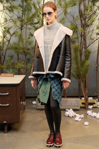 TOP FALL 2010 TRENDS:  #7 SHEARLING   The Sche Report / Margaret Sche