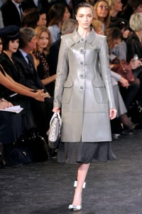 TOP FALL 2010 TRENDS:  #2 LEATHER   The Sche Report / Margaret Sche