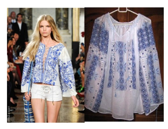 peasant blouse 11 TREND REPORT 2011:  YSL PEASANT BLOUSE REVISITED   The Sche Report / Margaret Sche