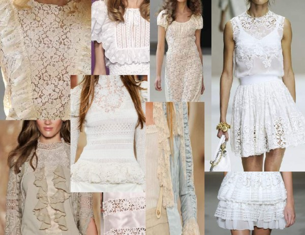 antique lace 1 1 SPRING/SUMMER 2011 TOP TEN TRENDS:  #10 LACE   The Sche Report / Margaret Sche