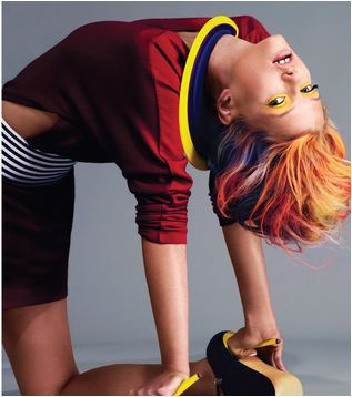 color hair 3 TREND SPOTTING:  PAINT BY NUMBER   The Sche Report / Margaret Sche