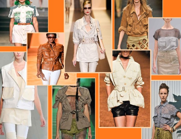 70s   safari 1 SPRING/SUMMER 2011 TOP 10 TRENDS:  #1 THE 70S FULL FORCE   The Sche Report / Margaret Sche