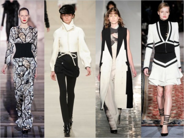 24 LONDON SETS A TREND:  BLACK & WHITE FOR FALL 2011   The Sche Report / Margaret Sche