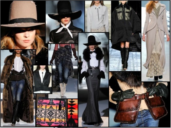 1 12 FALL 2011 TREND ALERT:  WILD, WILD WEST   The Sche Report / Margaret Sche