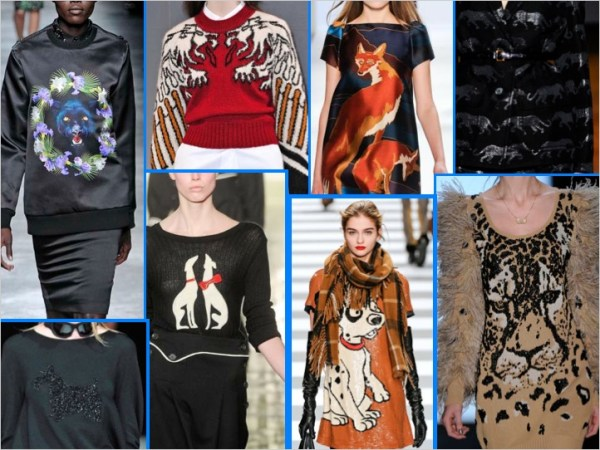117 LIONS, TIGERS, and DOGS..OH MY!! ANIMAL MOTIFS FOR FALL 2011   The Sche Report / Margaret Sche