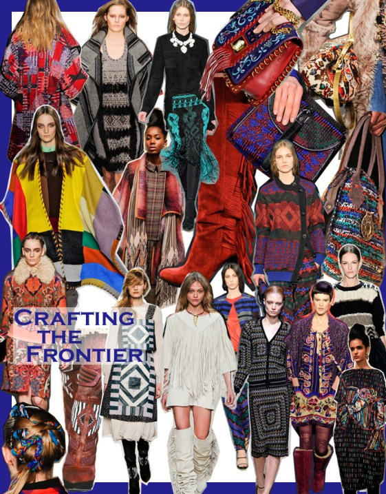 FALL 2011 TOP 10 TRENDS:  #8 CRAFTING THE FRONTIER   The Sche Report / Margaret Sche