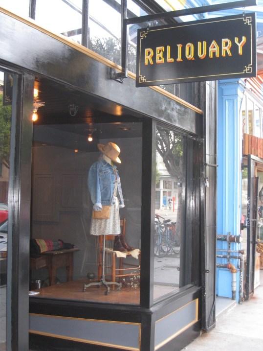 RETAIL REVIEW:  RELIQUARY BOUTIQUE, SAN FRANCISCO   The Sche Report / Margaret Sche
