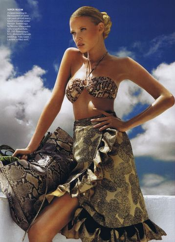 51 WE SAW IT FIRST! TREND VALIDATION: SUMMER SNAKESKINS   The Sche Report / Margaret Sche