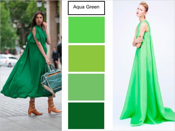 aqua green 2 SPRING 2012 COLOR PALETTE FORECAST   The Sche Report / Margaret Sche