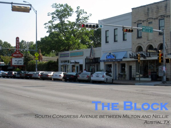 bock view austin THE BLOCK: SOUTH CONGRESS AND NELLIE  AUSTIN, TX   The Sche Report / Margaret Sche