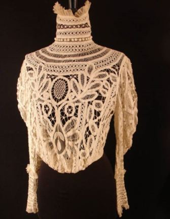 ebay french vintage lace extra high collar 5 KEY ITEMS FOR FALL 2011: GET THE LOOK   The Sche Report / Margaret Sche