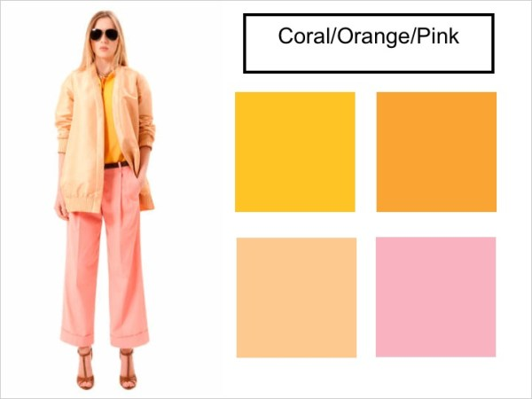 pink coral orange SPRING 2012 COLOR PALETTE FORECAST   The Sche Report / Margaret Sche