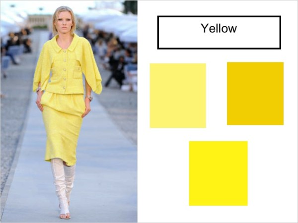 yellow SPRING 2012 COLOR PALETTE FORECAST   The Sche Report / Margaret Sche