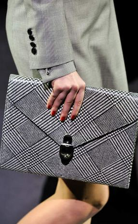 ferragamo FALL 2011 TREND ALERT: THE ENVELOPE CLUTCH   The Sche Report / Margaret Sche