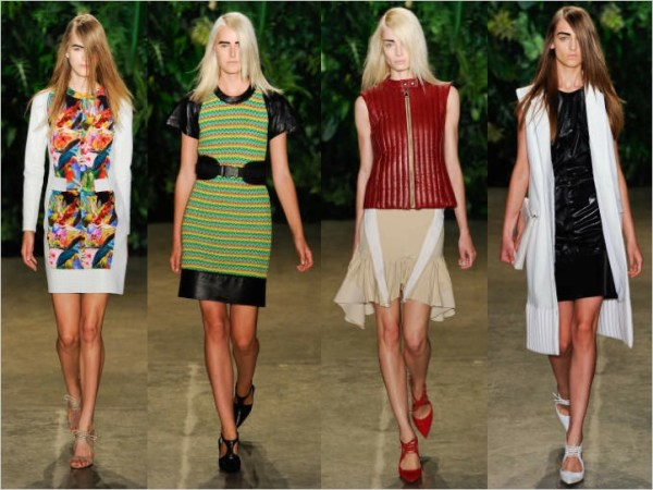 1 4 S/S 2012 NYC TOP 5 COLLECTIONS   The Sche Report / Margaret Sche