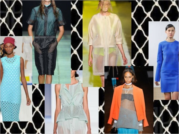 2 SPRING 2012 TREND ALERT: MESH UP   The Sche Report / Margaret Sche