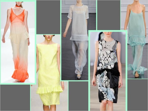 dropped waist S/S 2012 TREND ALERT: PEP RALLY   The Sche Report / Margaret Sche