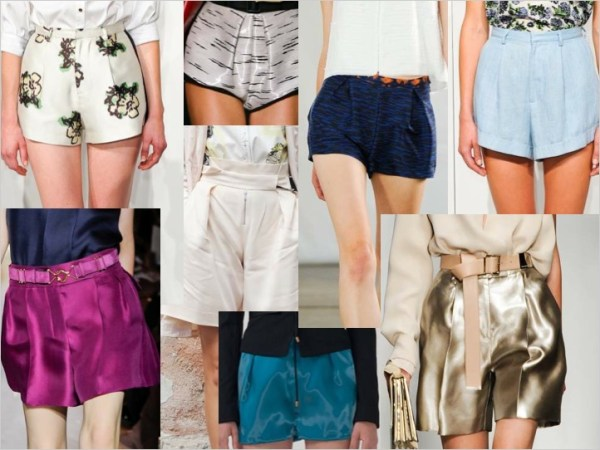 shorts S/S 2012 TREND ALERT: PRETTY PLEATS   The Sche Report / Margaret Sche
