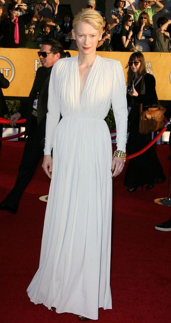 tilda swinton sag lanvin F/W12 NYFW TREND ALERT: WHITE OUT   The Sche Report / Margaret Sche
