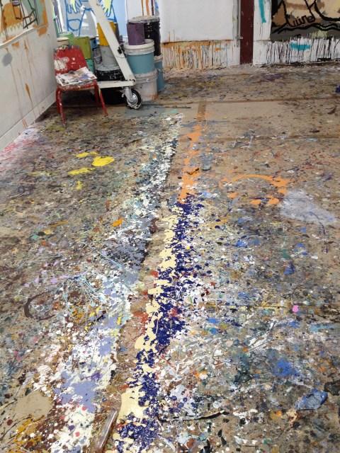 img 36821 STUDIO VISIT WITH ARTIST AMERICA MARTIN   The Sche Report / Margaret Sche