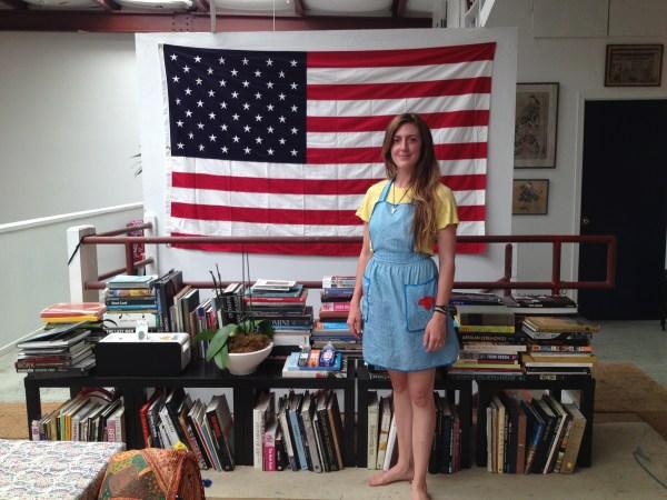 img 4002 STUDIO VISIT WITH ARTIST AMERICA MARTIN   The Sche Report / Margaret Sche