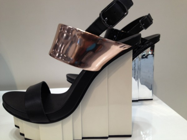 img 5539 A LOOK AHEAD:  SPRING 2013 SHOE TRENDS   The Sche Report / Margaret Sche